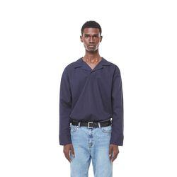 Jeste open cara shirt (Navy)