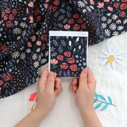 [Fabric] 퓨어린넨 퓨리티 플러스-페이퍼 컷팅 플라워