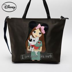 디즈니 DTP패치숄더-카키 TGZ41 백여행용가방나들