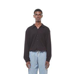 Rack9 open cara shirt (Black)