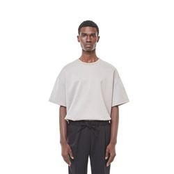 Lts cushion half T-shirt (Beige)