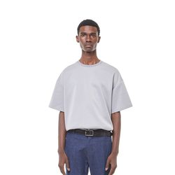 Lts cushion half T-shirt (Grey)