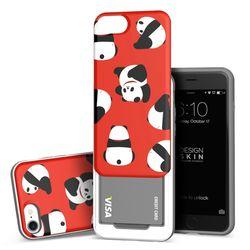 아이폰876 슬라이더 팬더 카드케이스