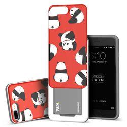 아이폰876플러스 슬라이더 팬더 카드케이스