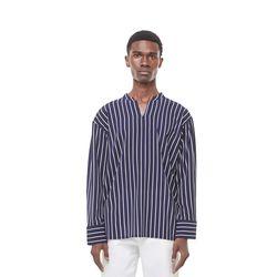 Jeste open china shirt (Stripe)