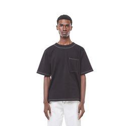 Se arecho stitch half T (Black)