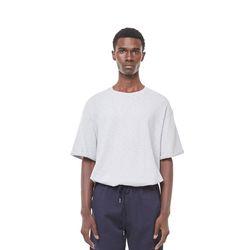 Uta rollover half T-shirt (Grey)