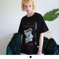 no.14 노 서브젝트 그래픽 반팔 티셔츠 (2color)
