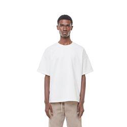 Lts cushion half T-shirt (White)