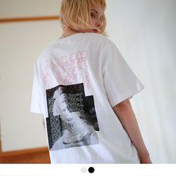 no.15 노 서브젝트 그래픽 반팔 티셔츠 (2color)
