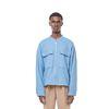 Seven linen two pocket jacket (Blue)