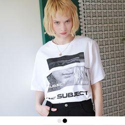no.12 노 서브젝트 그래픽 반팔 티셔츠 (2color)