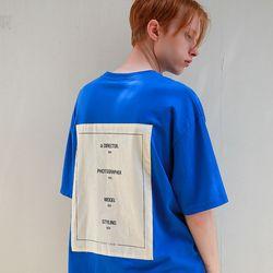 스텝스 패치 오버핏 반팔 티셔츠 (3color)