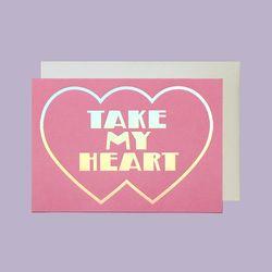 MESSAGE CARD HEART