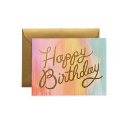 Sorbet Birthday Greeting Card