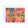 Poppy Birthday Greeting Card