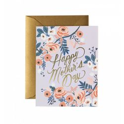 Rosy Mothers Day Greeting Card