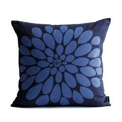 [쿠션커버]큰꽃 시리즈2 파랑