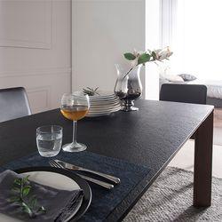 볼케이노 화산석 6인용 식탁(의자 미포함)