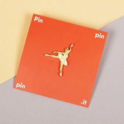 [pinpinpin] 화이트 스완 핀