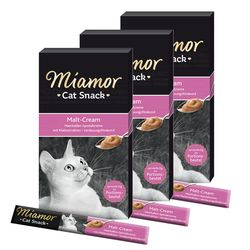 미아모아 캣 스낵 몰트크림 3개고양이간식파우치