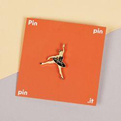 [pinpinpin] 블랙 스완 핀