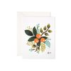 Clementine Floral Greeting Card