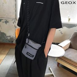 [GEOX] 락 미니백 그레이