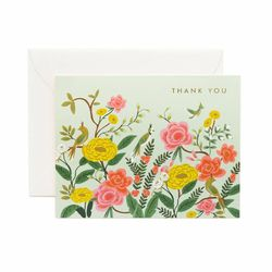 Shanghai Garden Thank You Greeting Card