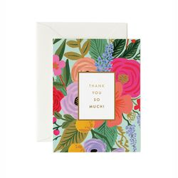 Garden Party Thank You Greeting Card