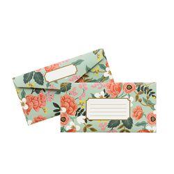 Mint Birch Monarch Envelope Set