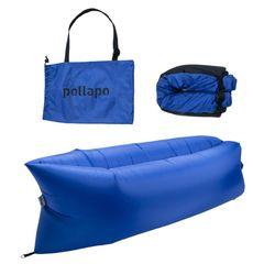 폴라포 휴대용 에어쇼파 캠핑침대 빈백
