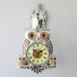 데일리데코 레리 부엉이 양면시계