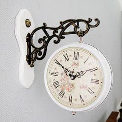 데일리데코 그라니 양면시계 (소)