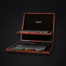 스테들러 카라트 125 수채 색연필 60색 우드케이스