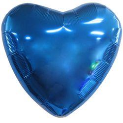 은박하트풍선 32인치 블루