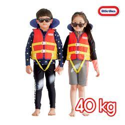 리틀타익스 수영조끼 40kg 어린이 부력보조복