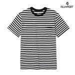 뉴해빗 -stripe pocket t-shirts -스트라이프포켓반팔