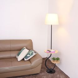 boaz 원드 협탁 장스탠드 LED 카페 인테리어 조명