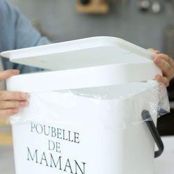 푸벨드마망 휴지통 전용 리필봉투 30매 (10리터용)