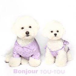 LOVE 셔츠드레스 violet