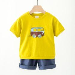 미니버스 반팔 티셔츠 QTH037