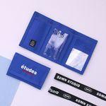 [랜야드 증정] ETUDES VELCRO WALLET-03.BLUE