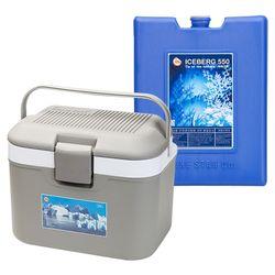 노스베어 아이스박스 22L+아이스팩550ml 1PACK