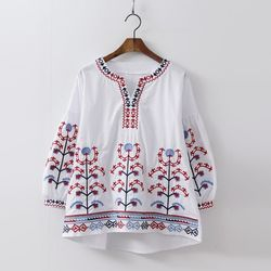 Gomerty Embroidered Blouse