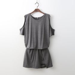 Off Skorts Jumpsuit - 치마바지