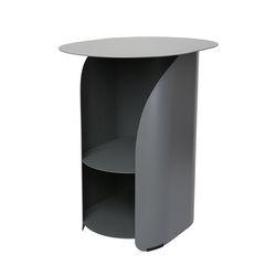커브 사이드 테이블 그레이