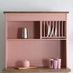BN-100 프렌치 그릇상부장(pink)