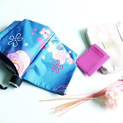 3단우산 플라워 자외선차단우산