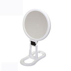양면거울 화이트(18cm)